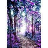 Forest Scene Diamond Painting Kits - PigPigBoss 5D Full Drill Diamond Embroidery Cross Stitch Diamond Painting by Numbers Hom