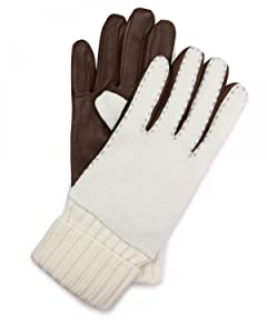 Sheep Leather Wool Glove 1437-699-1045: White