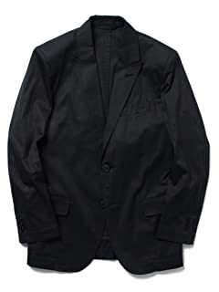 Herringbone Cotton Jacket 11-16-0922-107: Navy