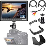 Neewer F200 7-Inch Camera Field Monitor Full HD 1920x1200 IPS with 4K HDMI DC Input Video Histogram Peaking Focus Assist for