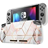 Mumba Protective Case for Nintendo Switch, [Girl Power] Soft TPU Grip Case Cover for Nintendo Switch Console with Shock-Absor