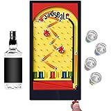楽しい夜のテーブルゲーム スキル&運次第 パーティーゲーム 罰ゲーム ルーレット 満喫可能 お酒グラスは付いていないです