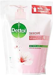 Dettol Skincare Hand Wash (Sakura Blossom), Refill, 225g