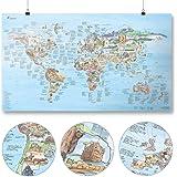 Climbing Map | Awesome Maps | World Map