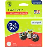 Glue Dots Removable Sheets Value Pack, Clear, Craft Dots