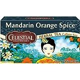 Celestial Seasonings Herbal Tea, Mandarin Orange Spice, 20 Count (Pack of 6)