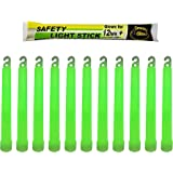 Industrial Grade Glow Sticks(12-20PCS)/ 6 inches Ultra Bright Light Sticks - Emergency Light Sticks for Camping Accessories,