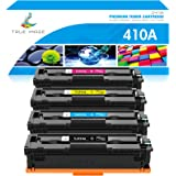 True Image Compatible Toner Cartridge Replacement for HP 410A CF410A CF411A CF412A CF413A Color Laserjet Pro MFP M477fnw M477