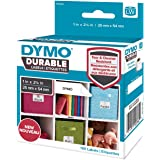 DYMO Label Writer Durable Polypropylene Label, 25 mm x 54 mm, White, 160 Count