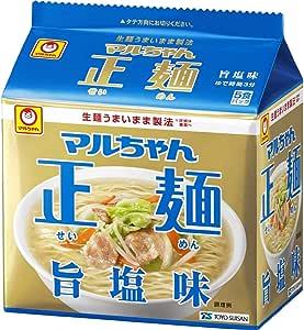 マルちゃん正麺 旨塩味 5食