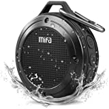 Bluetooth Speaker, MIFA F10 Portable Speaker with DSP Bass Sound, IP56 Dustproof Waterproof, 10-Hour Playtime, Built-in Mic,
