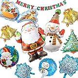 七色良品 クリスマス バルーン 飾り イベント パーティー セット (スノーホワイト)