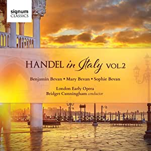 Handel: Handel in Italy Vol 2
