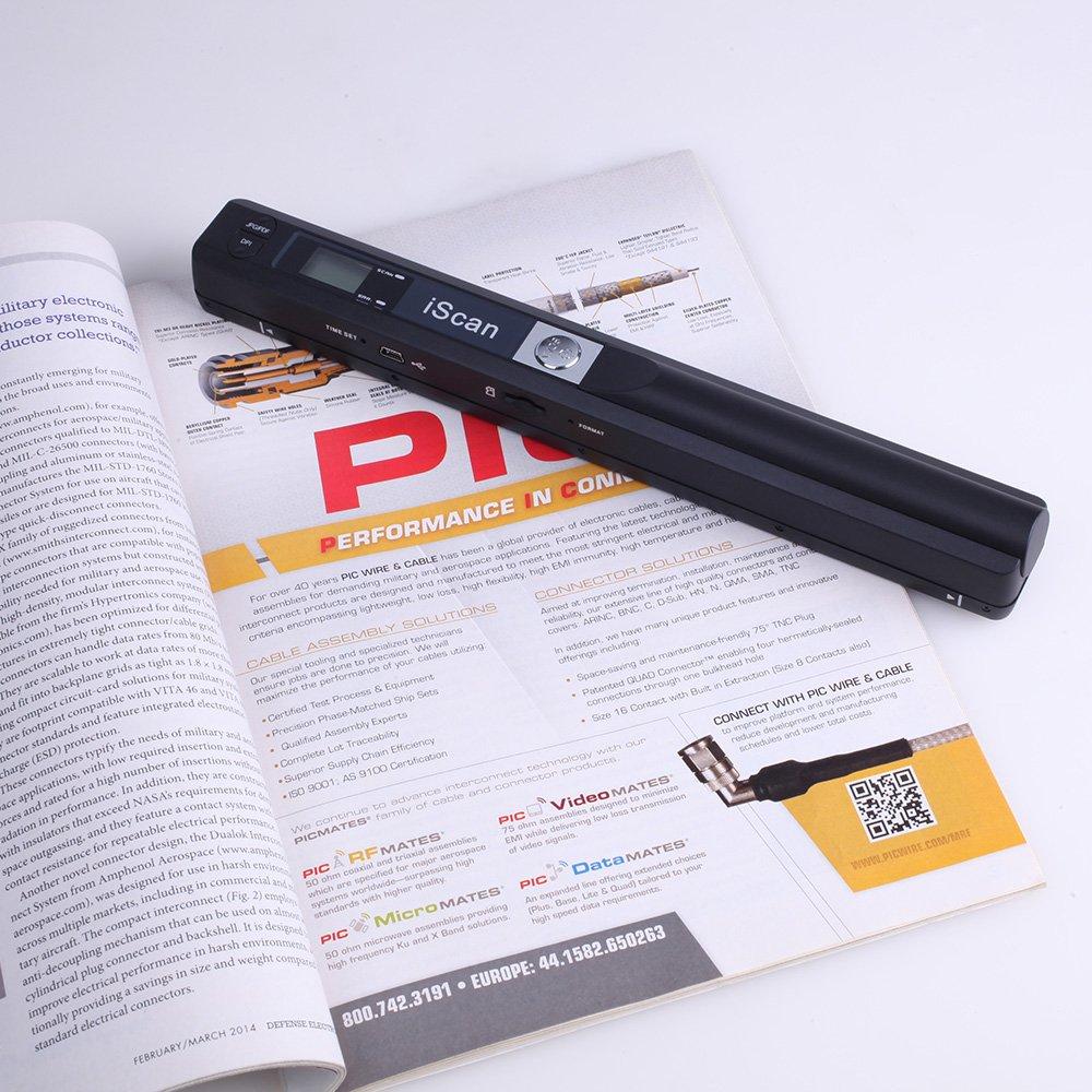 InLight ハンディスキャナー A4 8G microSD OCR搭載 本・書籍のデータ化(自炊)に最適 最大900dpi対応 ハンディスキャナ モバイルスキャナ 写真