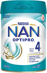 Nestlé NAN Optipro 4 Can Top, 850 Grams