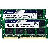Timetec Hynix IC 16GB Kit (2x8GB) DDR3L 1866MHz PC3-14900 Unbuffered Non-ECC 1.35V CL13 2Rx8 Dual Rank 204 Pin SODIMM Apple M