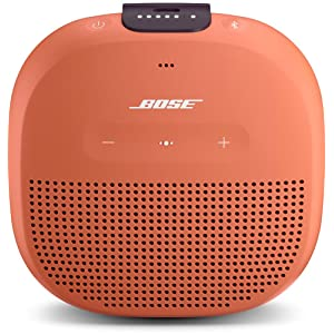 Bose SoundLink Micro Bluetooth speaker ポータブルワイヤレススピーカー ブライトオレンジ【国内正規品】