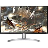 "LG 27UL600-W 27"" UHD 4K IPS Monitor, 5ms (GTG), HDMI, VESA DisplayHDR 400, HDCP 2.2 Compatible, Radeon FreeSync, Screen Split"