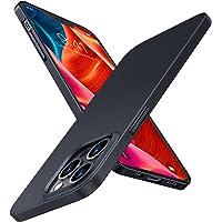 TORRAS 極薄 iPhone 13 Pro 用ケース 6.1インチ マット質感 超軽量 ガラスフィルム付属 PC素材…
