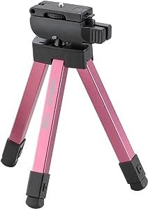 Velbon 旅行用 小型 三脚 ピンク CUBE PINK