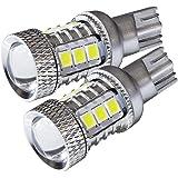 ピカキュウ LED T16 爆-BAKU- 650lm バックランプ ホワイト 6600K [後退灯] 2個 18ヶ月保証 57017