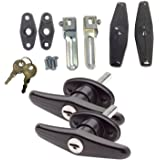 Gordon Glass Co. Bauer Matching Set Locking T-Handle | Complete Kit | Keyed with Key J327