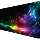 Benvo Extended Mouse Pad Large Gaming Mouse Pad- 35.4x15.7x0.12 inch Computer Keyboard Mouse Mat Non-Slip Mousepad Rubber Bas