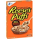 Reese's Puffs Cereal Chocolate Peanut Butter, with Whole Grain, 11.5 oz