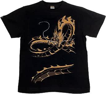 [GENJU] Tシャツ 龍 竜 和柄 裏もデザイン有 オリエンタル メンズ キッズ