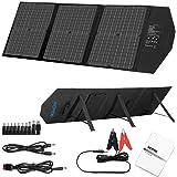 AIDPEK ソーラーパネル 60W ソーラーチャージャー ソーラー充電器 折りたたみ式 スタンド付 薄型 QC3.0搭…