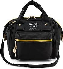 PlumRiver がま口 ショルダーバッグ 口金ショルダーバッグ リュックサック ハンドバッグ にもなる 3Way バッグ