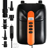 New 20PSI SUP Electric High Air Pump, 12V Smart high Pressure Pump with Intelligent Dual Stage & Auto-Off Function for Air Ma