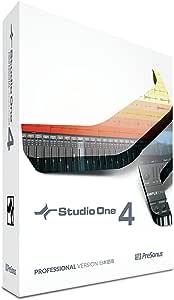 PreSonus DAWソフトウェア Studio One 4 Professional 日本語版(ボックス)