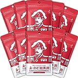 森下仁丹 鼻・のど甜茶飴 10袋 のど飴 まとめ買い ノンシュガー メントール 和漢エキス