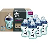 Tommee Tippee 260Ml Feeding Bottles (6-Pack)
