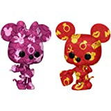 Funko Pop! Artist Series: Disney Treasures from the Vault - Mickey and Minnie Mouse (2 Pack), Amazon Exclusive