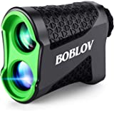 BOBLOV ゴルフ 距離計 レーザー距離計 距離測定器 ゴルフスコープ 660yd 光学6倍望遠 IPX5防水 距離計…