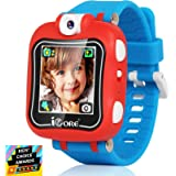 iCore Durable Kids Smartwatch, Electronic Child Smart Watch Video Games, Children Digital Tech Watches, Touch Screen Wearable