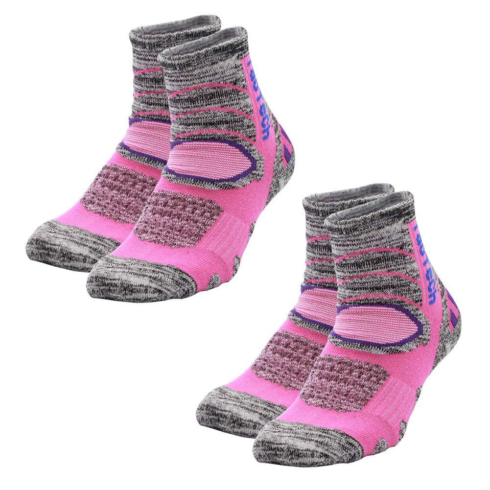 f382620403ab4 ソックス 登山 スキー スノーボード 用 ソックス 靴下 トレッキング 遠足 徒歩 レディース メンズ ショート ピンク 2