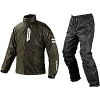 コミネ(KOMINE) バイク用 ブレスターレインウェアフィアート オリーブ S RK-539 755 雨具 カッパ 防…