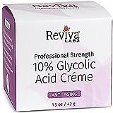 Reviva Labs 10% Glycolic Acid Cream - 1.5 oz - Pack of 2