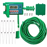 Yardeen Smart Watering Timer with Automatic Sprinkler System Drip Irrigation Controller Color Green