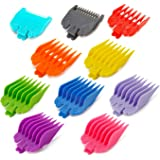 Professional Hair Clipper Guide Combs,Hair Clipper Cutting Guides/Combs -From 1/16inch to 1inch, Compatible with Most Wahl Cl