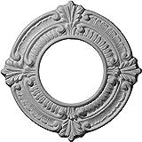 Ekena Millwork CM09BN 9-Inch OD x 4 1/8-Inch ID x 5/8-Inch Benson Ceiling Medallion