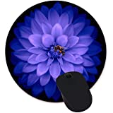 Watercolor Flower Round Mouse Pad Custom Design Gaming Mouse Pad