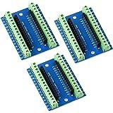 RUIZHI Arduino Nano 用 I/O シールド拡張ボードターミナルアダプター(ターミナルアダプター3個)
