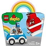 LEGO®DUPLO®MyFirstFireHelicopterandPoliceCar10957BuildingToy