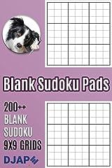 Blank Sudoku Pads: 200++ Blank Sudoku 9x9 Grids ペーパーバック