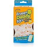 Scrub Daddy - Eraser Daddy 10x with Scrubbing Gems Dual-Sided Scrubber and Eraser- Lasts 10x Longer Than Ordinary Melamine Er