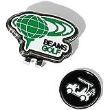 [ビームスゴルフ] ゴルフ クリップマーカー 地球ロゴ メンズ